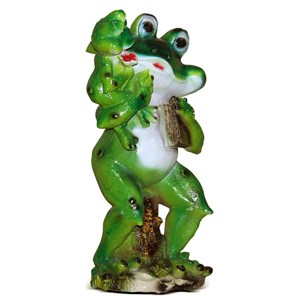 Изображение Лягушка с лягушонком