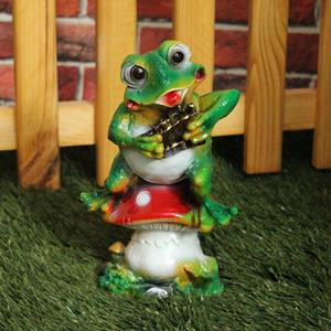 Изображение Лягушка с флейтой