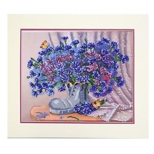 Изображение Башмачок с васильками