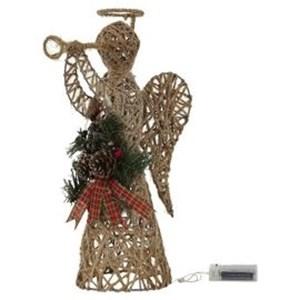 Изображение Рождественский декор Ангел золото