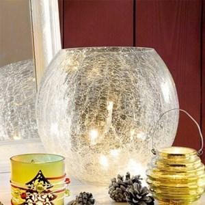 Изображение Декор рождественский ваза-шар