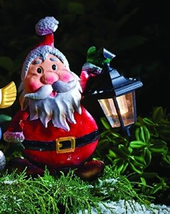 Изображение Новогодний светильник на солнечной батарее