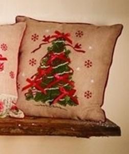 Изображение Рождественская подушка