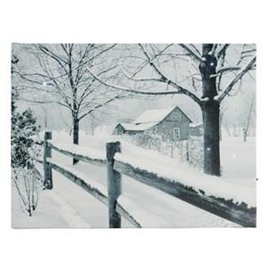 Изображение Зимняя сказка картина с подсветкой