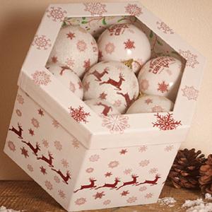 Изображение Набор новогодних шаров