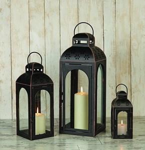 Изображение Набор фонарей The Balcombe Lanterns 3шт (45см, 32см, 20см)