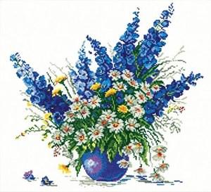 Изображение Голубой букет