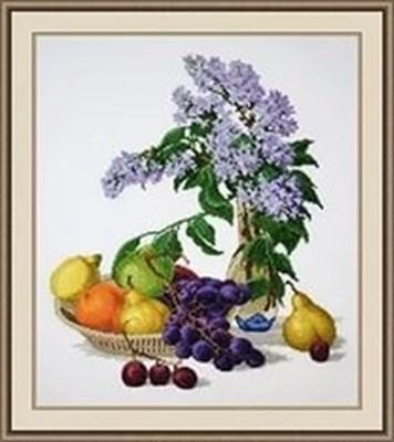 Изображение Сирень и фрукты