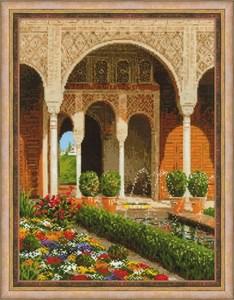 Изображение Двор ручья. Дворец Хенералифе
