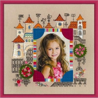"""Изображение Панно для фотографии """"Замок принцессы"""""""