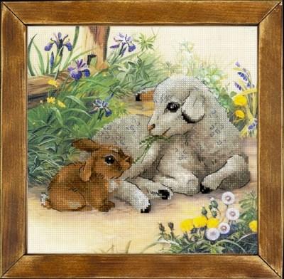 Изображение Ягненок и кролик
