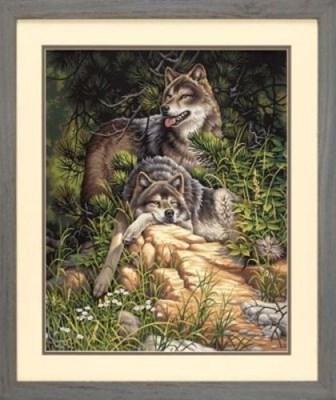 Изображение Дикие и свободные волки