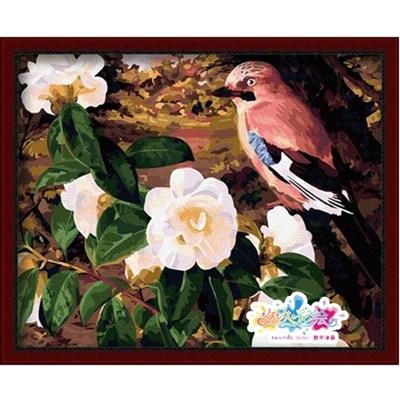 Изображение Птица и шиповник