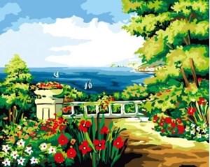 Изображение Город на берегу моря