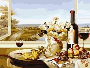 Изображение Вино и фрукты