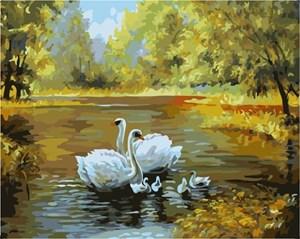 Изображение Лебединое семейство