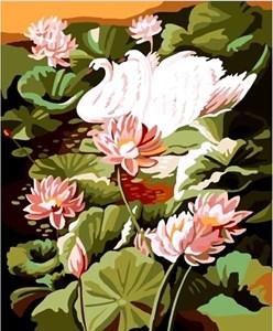 Изображение Лебеди среди кувшинок