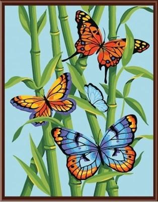 Изображение Бабочки в троснике