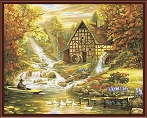 Изображение Домик у горной речки