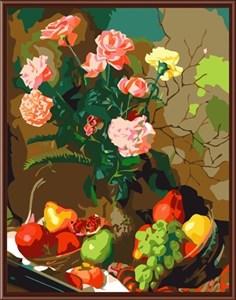 Изображение Цветы и фрукты