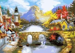 Изображение Городок на реке