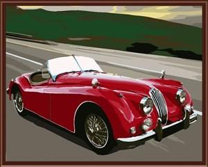 Изображение Красная машина