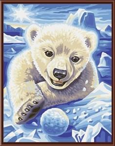 Изображение Белый медвежонок