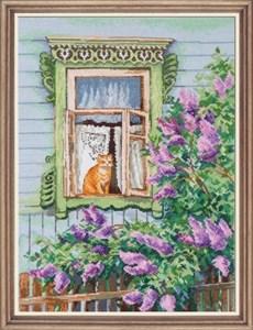 Изображение А за окном