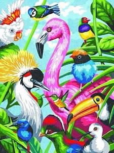 Изображение Тропические перья