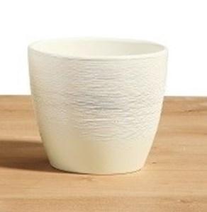Изображение Кашпо  950 Creme/Cream D14см, керамика