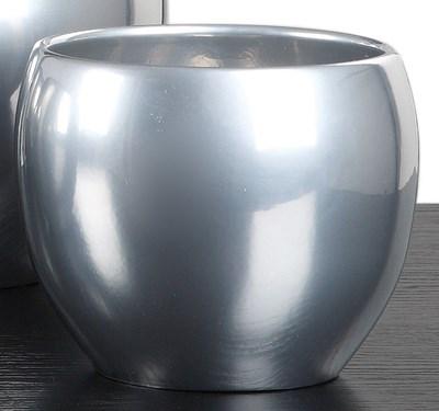 Изображение Кашпо 740 Metal D20cм, керамика