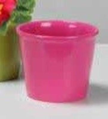 Изображение Кашпо 890 Glossy Pink D 12cм, керамика