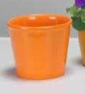 Изображение Кашпо 890 Sevilla Orange D 12cм, керамика