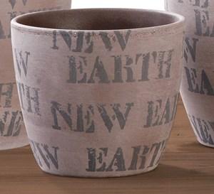 Изображение Кашпо  920 New Earth D14см, керамика