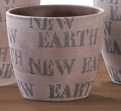Изображение Кашпо  920 New Earth D16см, керамика