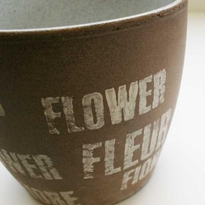 Изображение Кашпо  920 Fleur D16см, керамика
