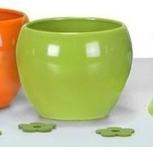 Изображение Кашпо 740 Blazing Green D 17cм, керамика