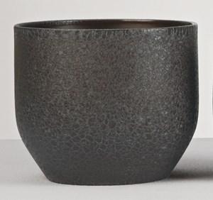 Изображение Кашпо  820 Lezard Noir D16см, керамика