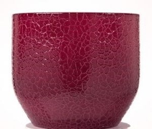 Изображение Кашпо  820Lezard Rouge D16см, керамика