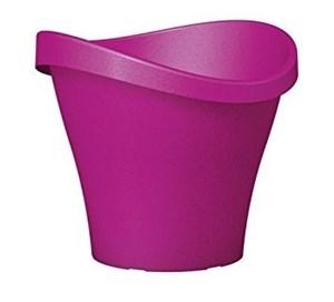 Изображение Емкость д/цветов пластиковая 251 D48 см натуральный рубиновый