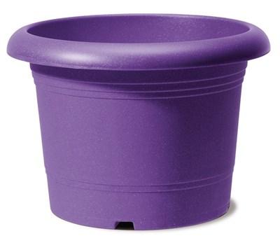 Изображение Емкость д/цветов пластиковая 322 D40 см натуральный фиолетовый
