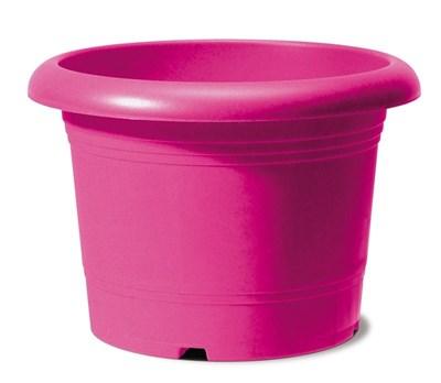 Изображение Емкость д/цветов пластиковая 322 D40 см натуральный рубиновый