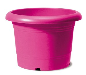 Изображение Емкость д/цветов пластиковая 322 D50 см натуральный рубиновый