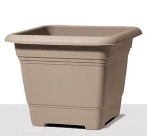 Изображение Емкость д/цветов пластиковая 326 D48 см натуральный коричневый