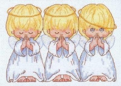 Изображение Три маленьких ангелочка