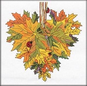 Изображение Кленовое сердце. Октябрь