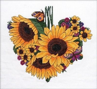 Изображение Подсолнечное сердце. Сентябрь