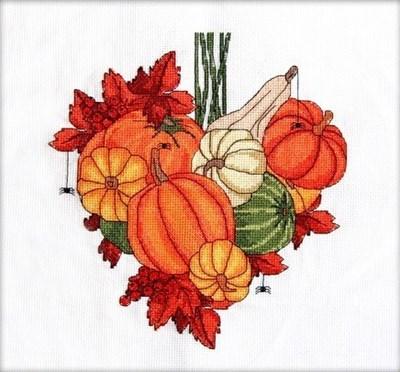 Изображение Тыквенное сердце. Ноябрь