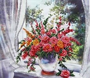 Изображение Цветы у окна