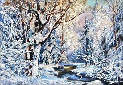 Изображение Зима в лесу